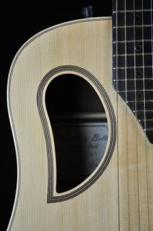 Chitarra acustica OSD Liuteria Cocopelli buca